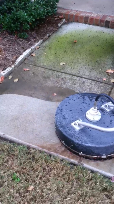 how to clean mold off concrete
